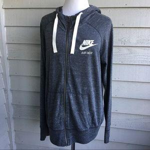Nike Just Do It Gray Hoodie